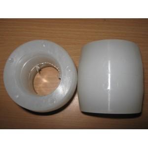 چرخ شاخک استکر نیمه برقی (نایلون-سفید)
